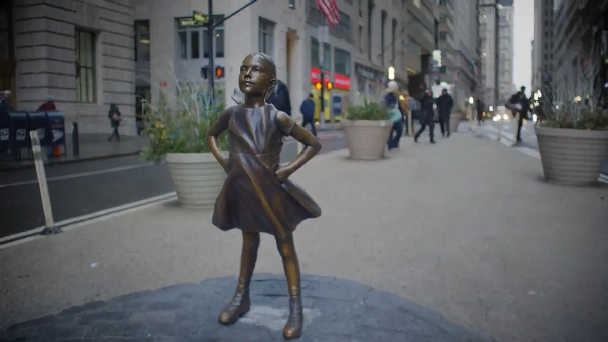 Fearless Girl Statue as seen on Tourist's Website