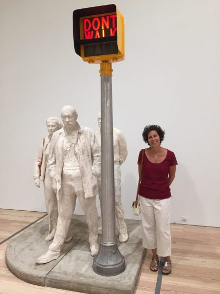 "George Segal's ""Walk, Don't Walk"" at The Whitney"