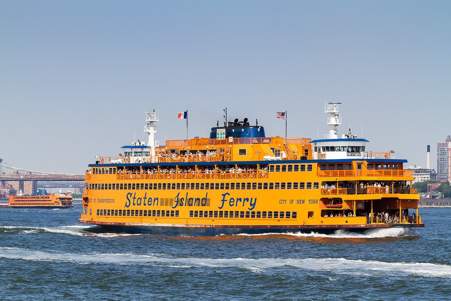 Staten Island Ferry as seen on Tourist's Website