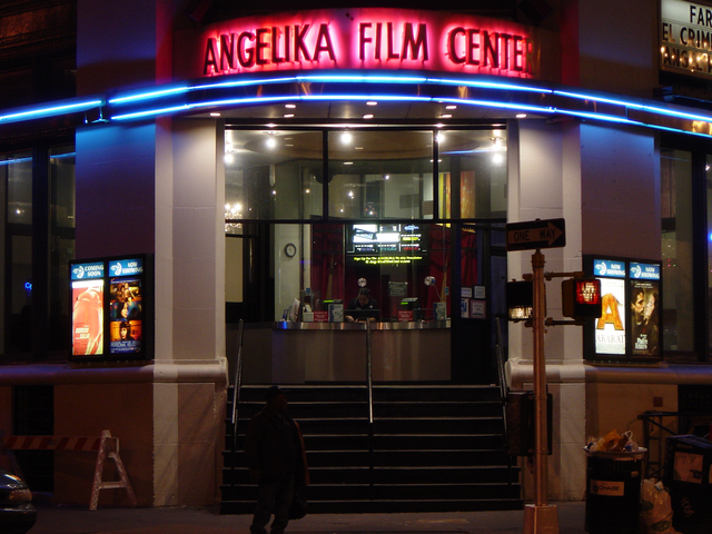 Angelika Film Center as seen on Tourist's Website