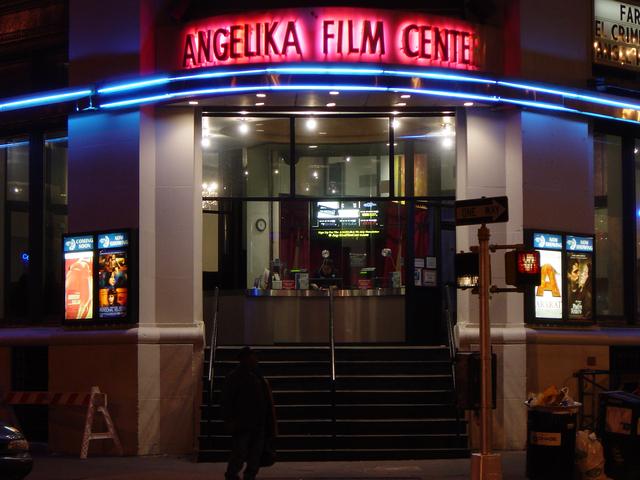 Angelika Film Center as seen on Tourist's Website