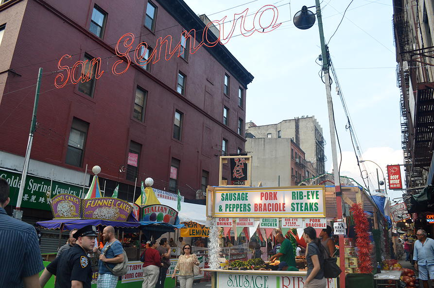 The Feast of San Gennaro as seen on Tourist's Website